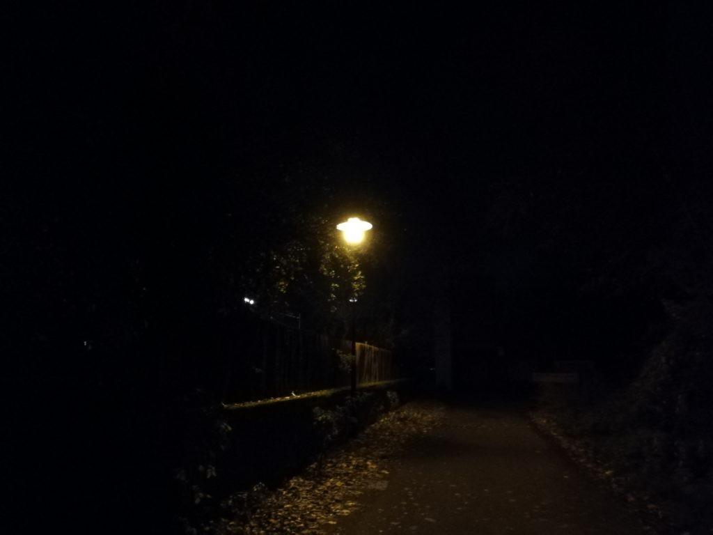 Eiskalte Winternacht - mein Glücksmoment