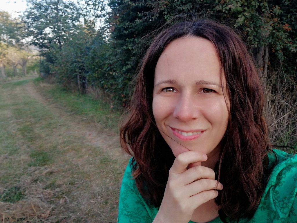 Die Glücksfinderin ich Glücksblog Waldbaden Kursleiterin Glück