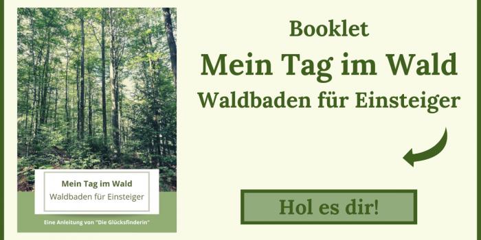 Booklet Mein Tag im Wald Waldbaden für Anfänger